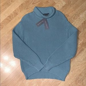 French Connection Jonah Blue Sweater L